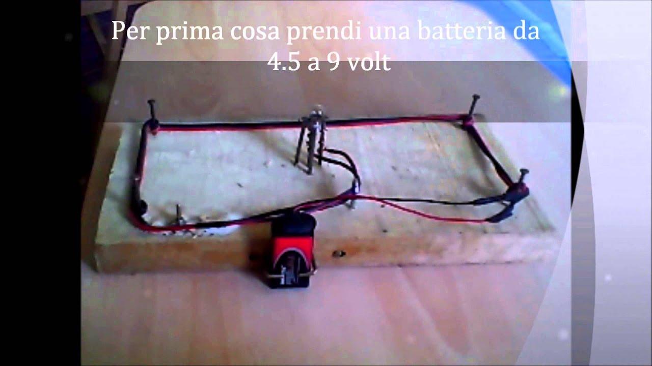 Come costruire un circuito elettrico semplice youtube for Costruire un ranch a casa