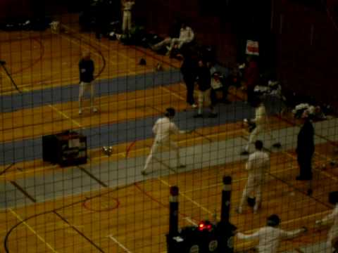 welsh opens 2009 fencing paul dickinson A.K.A bruce dickinson iron maidon