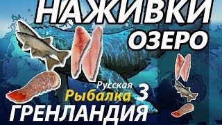Наживки Озеро / РР3 [Русская Рыбалка 3 Гренландия].