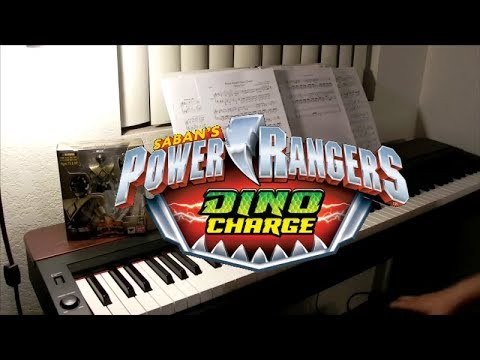 Power Rangers Dino Charge - Opening Theme (piano cover)