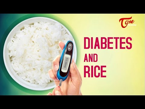 Health Facts   Diabetes and Rice   by Dr Paturi Rao