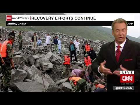 Deadly landslide engulfs Chinese village