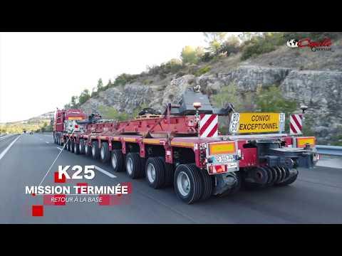 [ Enorme dégoudronneur de 150 tonnes  ] Un convoi exceptionnel by Capelle Oversize