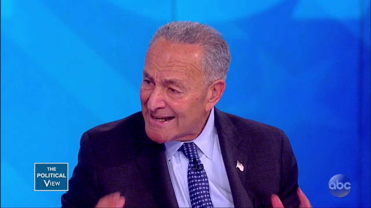 Sen. Chuck Schumer Discusses Democrats' Strategy For Midterms   The View