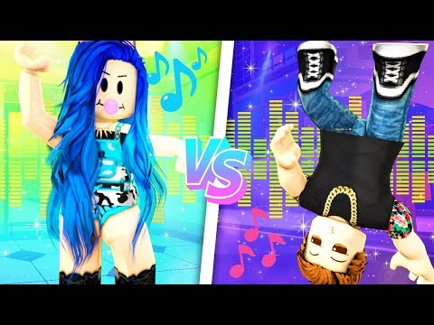 THE EPIC DANCE BATTLE IN ROBLOX!