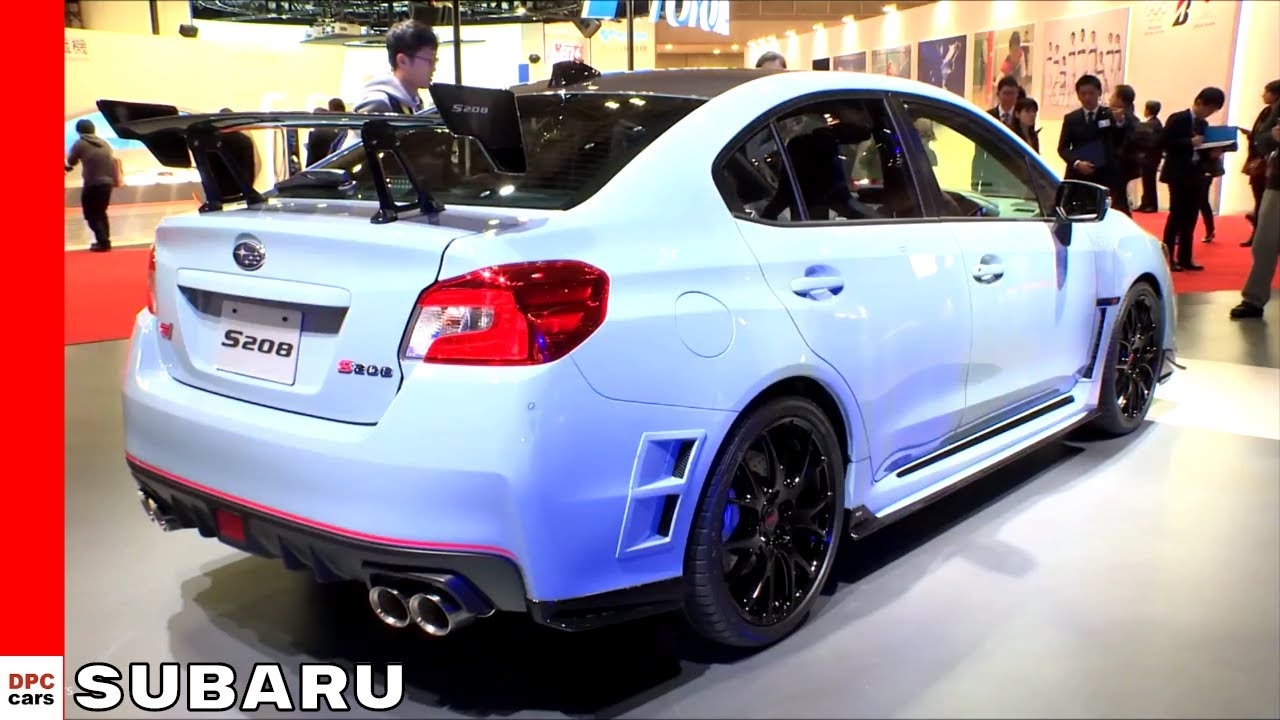 2018 Subaru Wrx Sti S208 Limited Edition Brz Sport