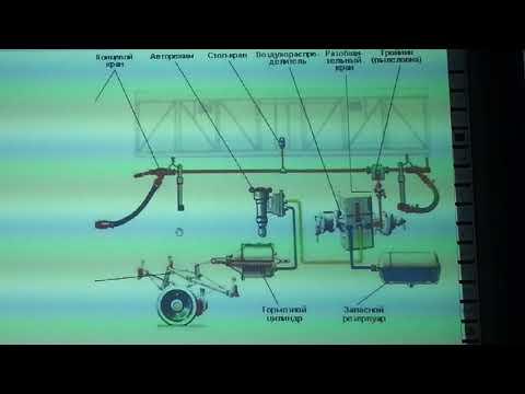 Устройство тормозного оборудования грузового вагона