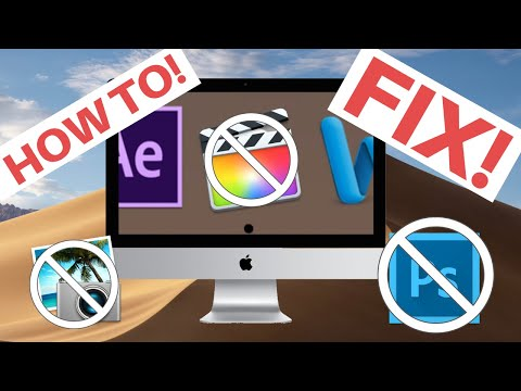 Can't Open Mac Application | White Circle Fix