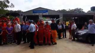 Russell Island SES Shed Grand Opening