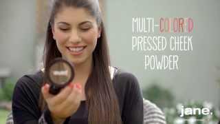 Jane Multi-Colored Pressed Cheek Powder