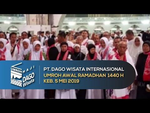 Umroh awal ramadhan 7-17 mei 2019.