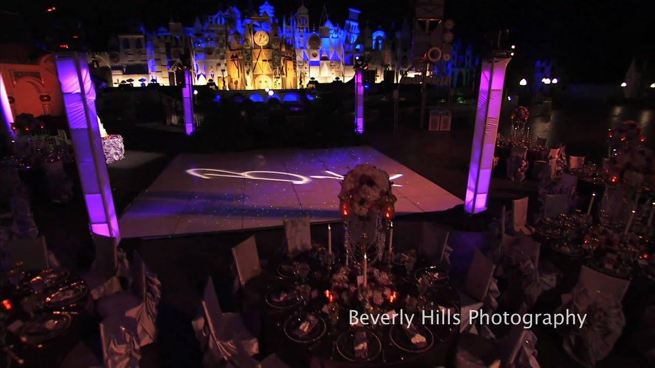 Disney Fairy Tale Magical Wedding Reception  Disneyland