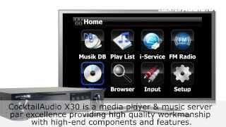 CocktailAudio X30 AudioServer - Professional Music / Audio Storage