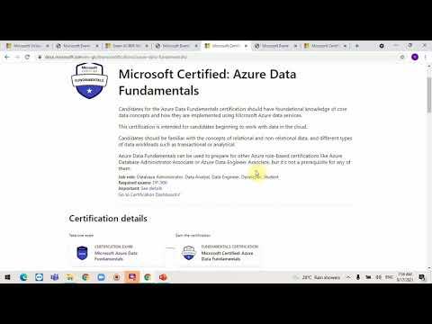 Free Microsoft Fundamentals Certification in Tamil
