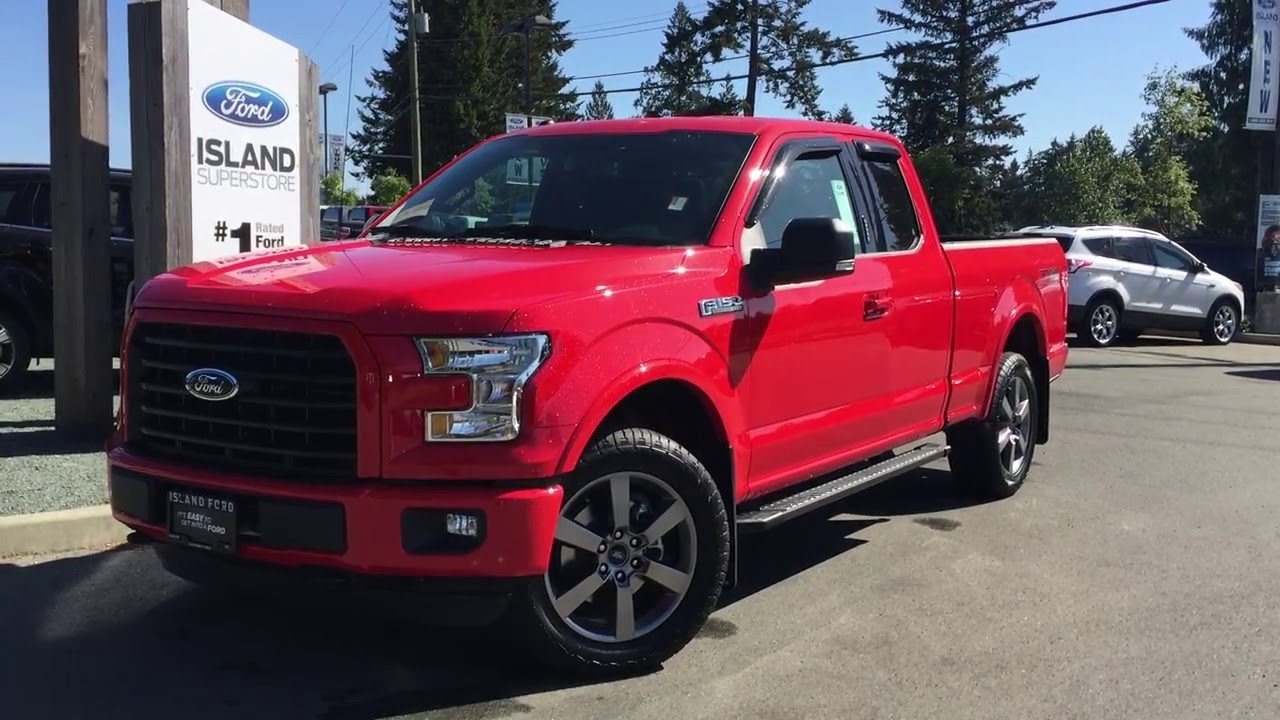 ford f 150 fx4 red [ 1280 x 720 Pixel ]