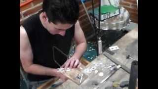 Fabricación artesanal de joyas de plata