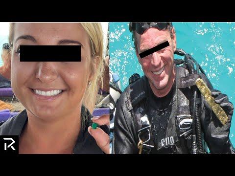 Florida Couple Finds Sunken Treasure Worth $957 Million!