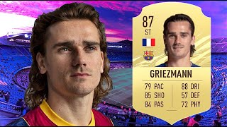 FIFA 21: ANTOINE GRIEZMANN 87 PLAYER REVIEW I FIFA 21 ULTIMATE TEAM