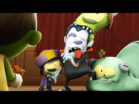 Funny Animated Cartoon | Spookiz | The Walking...Creatures?  | 스푸키즈 | Cartoon For Children