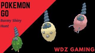Pokemon Go New Shiny  Burmy Released