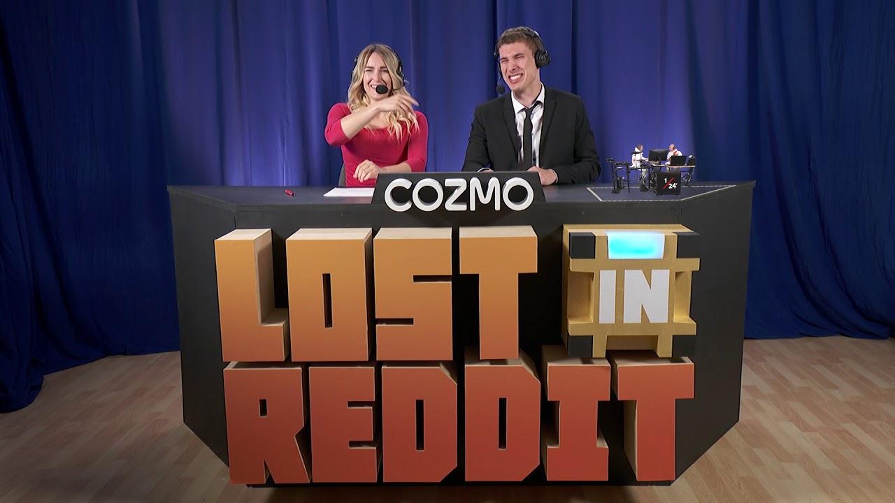 cozmo lost in reddit