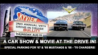 You're Invited To The 2nd Annual V8TV Drive-In Cruise!