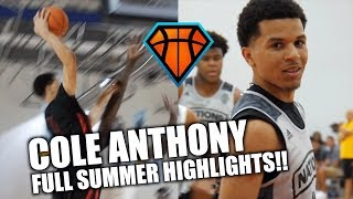 Is Cole Anthony the BEST Junior Point Guard in the Country?!   Full Summer Highlights