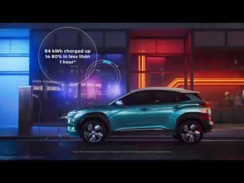 Elektrische Suv Hyundai Kona Electric Youtube