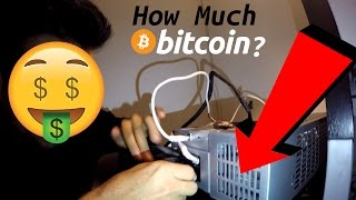 How Much can you make mining bitcoins + Antminer R4 unboxing and complete setup