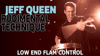 Jeff Queen Lesson Series: Low End Flam Control