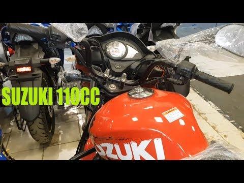 New Suzuki Hayate - New Look   Review Hayate 110cc,mileage,Top speed, Features Specs & Price 2019