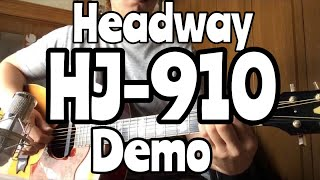Headway HJ-910 Acoustic guitar Demo