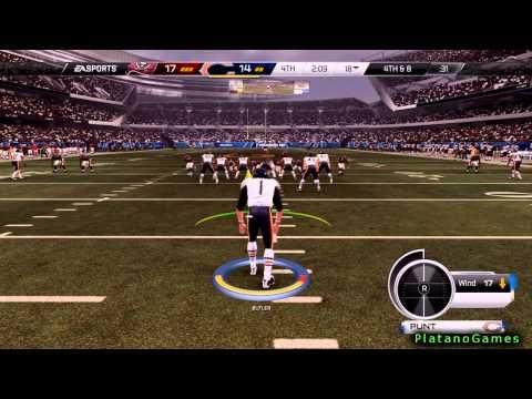 NFL 2014 Week 12 - Tampa Bay Buccaneers vs Chicago Bears - 2nd Half - Madden NFL 25 PS4 - HD