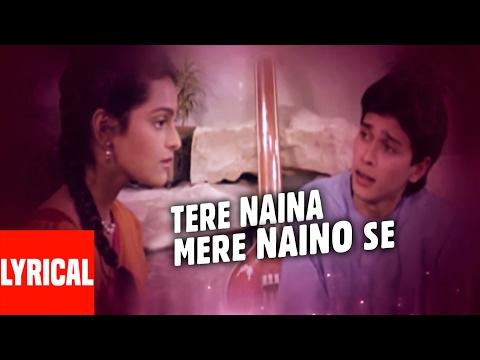 Tere Naina Mere Naino Se Lyrical Video | Bhrashtachar | Suresh Wadkar | Shilpa Shirodkar