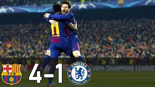 Video Barcelona Vs Chelsea 4-1 All Goals & Highlight HD | 2018 download MP3, 3GP, MP4, WEBM, AVI, FLV September 2018