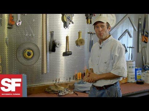 Farmer-Made Shop Peg Board | All Around The Farm | Successful Farming