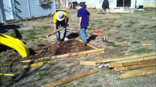 How To Install Landscaping Timbers