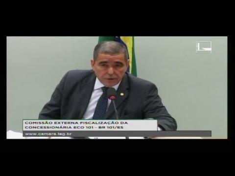 FISCALIZAÇÃO DA CONCESSIONÁRIA ECO 101 - BR 101/ES - Reunião Deliberativa - 24/04/2018 - 15:08