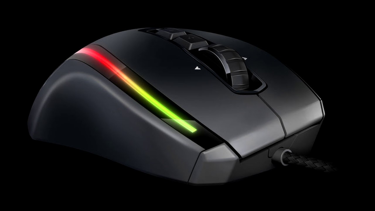 Roccat Kone EMP Mouseabuse Sounds - YouTube