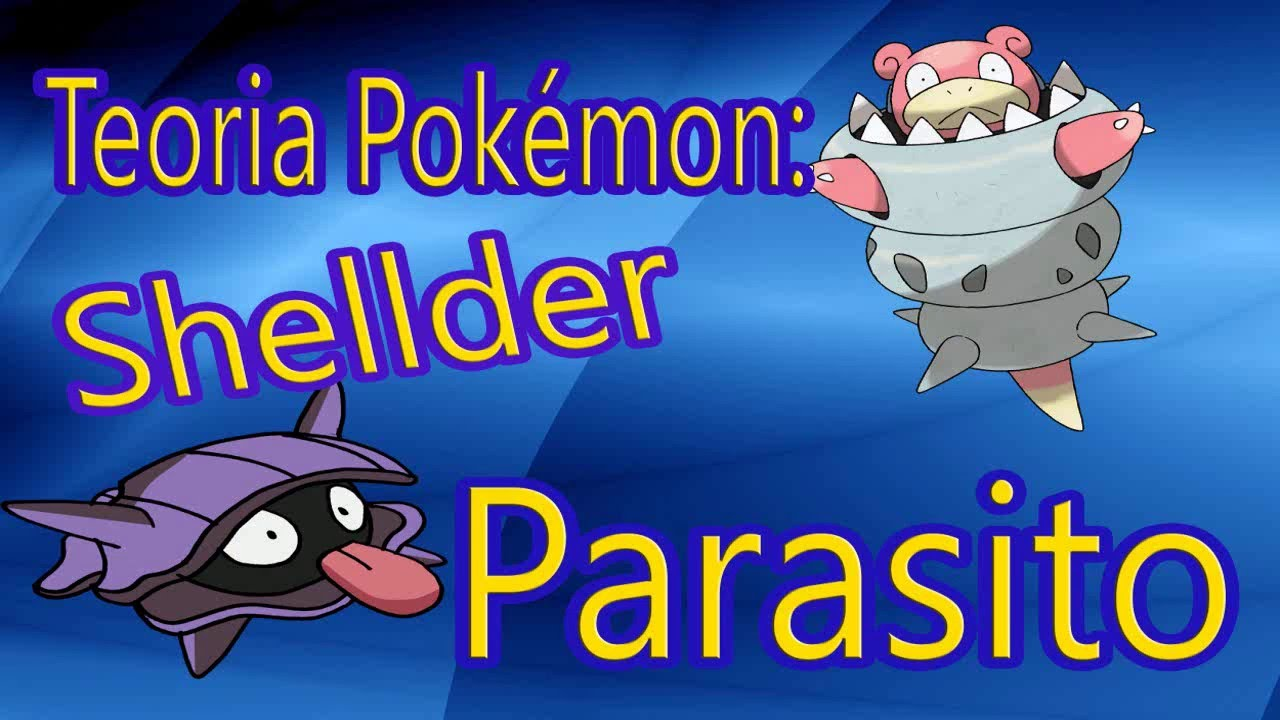 TEORIA POKEMON: shellder parasito - FabrizioPoke - YouTube