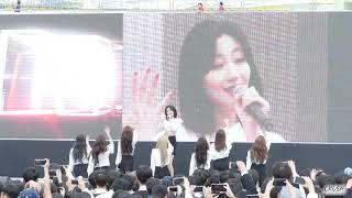 4k 191015 러블리즈(lovelyz) no cut fullcam 김천 시민체육대회 개막식 축하공연 직캠