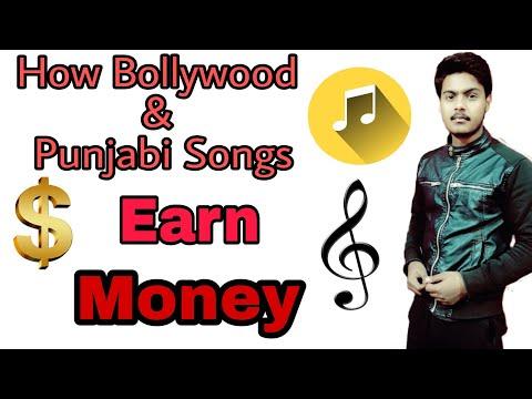 How Bollywood & Punjabi songs $ Earn money | Explained in Hindi !!!