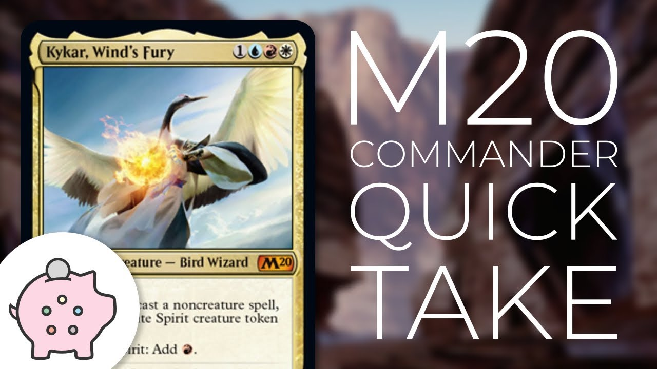Kykar, Wind's Fury | M20 Spoiler | EDH | Budget | Artifact Storm |  Commander Quick Take