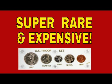 The Most Valuable US Mint Proof Set!  Proof Set Worth Money!