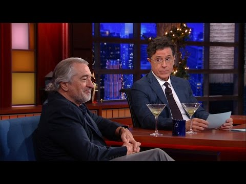 Robert De Niro Enjoys A Cold Martini And Silence, Part 2