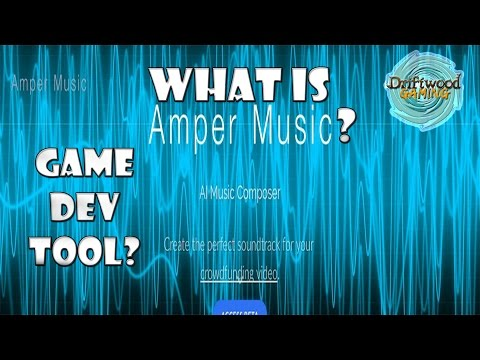 What is Amper Music? A Game Development Tool? Easy music creation for your projects - Amper Tutorial
