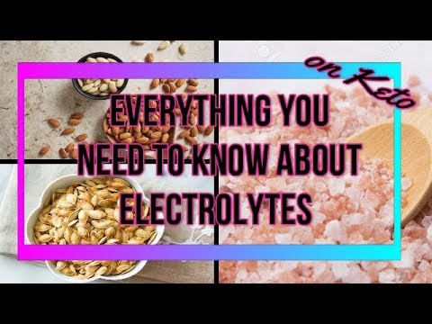 Keto Electrolyte Drink Recipe | Do I Need Sole Water? How Much Potassium Do I Need?