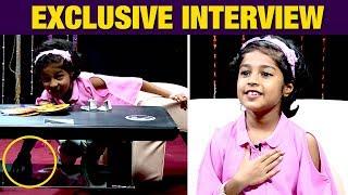 Simbu Uncle நானும் Same   Cute Baby Krithika Interview   Mouna Ragam Shakthi