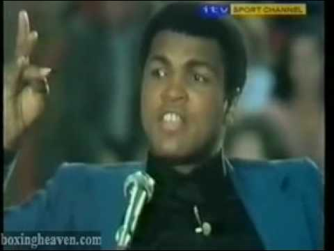 Muhammad Ali interview about islam muslim (boxing legend)
