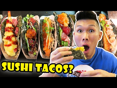 SUSHI TACOS: DIY Tasty & Incredible Street Food || Life After College: Ep. 530